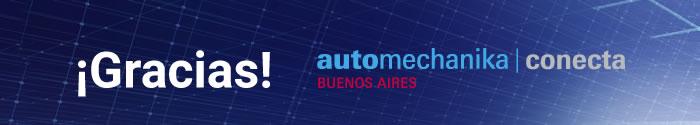 ¡Gracias! Automechanika Buenos Aires Conecta
